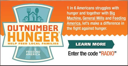 Outnumber Hunger: Help Feed Local Families